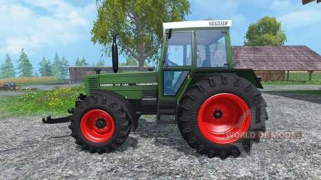 Fendt Farmer 310 LSA Turbomatik für Farming Simulator 2015