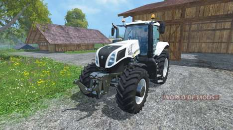 New Holland T8.435 Ultra White v1.3 für Farming Simulator 2015