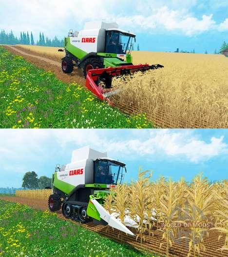 CLAAS Lexique 550 и 560TT pour Farming Simulator 2015