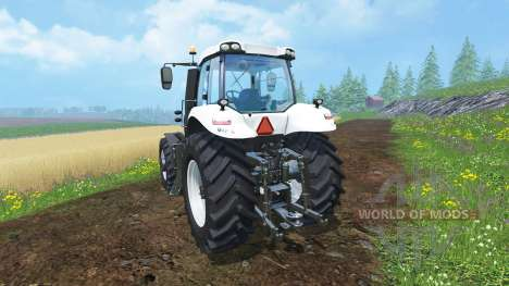 New Holland T8.435 Ultra White v1.31 für Farming Simulator 2015