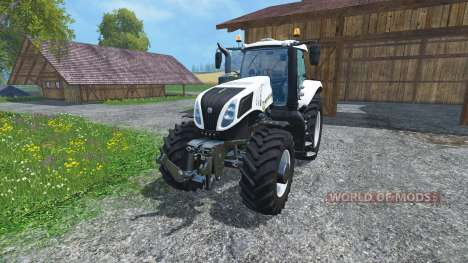 New Holland T8.435 Ultra White pour Farming Simulator 2015