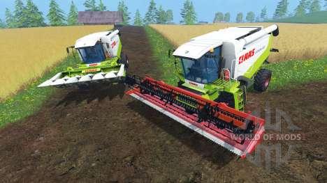 CLAAS Lexion 550 и 560TT für Farming Simulator 2015