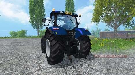 New Holland T6.160 Golden Jubilee v1.1 pour Farming Simulator 2015