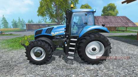 New Holland T8.435 4wheels v0.1 für Farming Simulator 2015