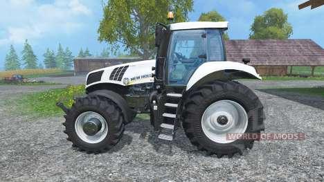New Holland T8.435 Ultra White v1.3 für Farming Simulator 2015