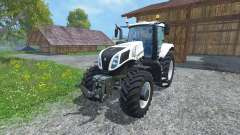 New Holland T8.435 Ultra White v1.3