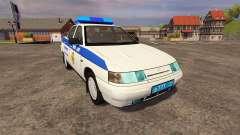 VAZ 2110 Police pour Farming Simulator 2013