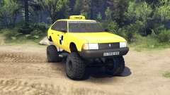 AZLK Moskwitsch 2141 taxi monster v1.1 für Spin Tires