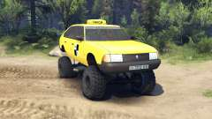 AZLK Moskvich 2141 taxi monstre v1.1 pour Spin Tires