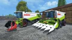 CLAAS Lexion 550 и 560TT