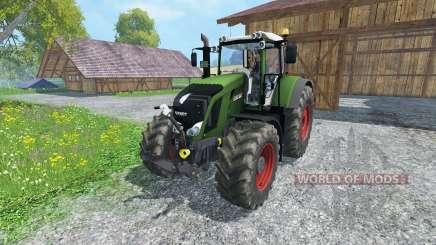 Fendt 828 Vario full script pour Farming Simulator 2015