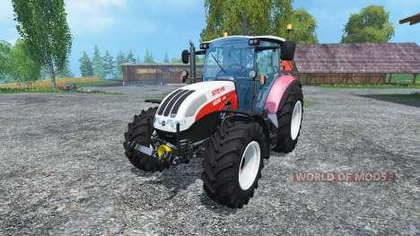 Steyr CVT 6230 Ecotech v1.4 pour Farming Simulator 2015