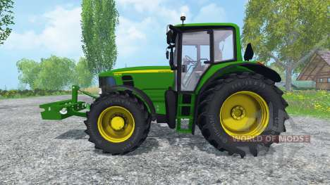 John Deere 6830 Premium FL v2.0 pour Farming Simulator 2015