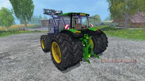 John Deere 6150R FL pour Farming Simulator 2015