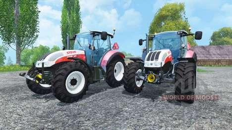 Steyr CVT 6230 Pack v1.4 pour Farming Simulator 2015