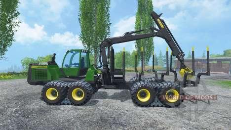 John Deere 1510E IT4 pour Farming Simulator 2015