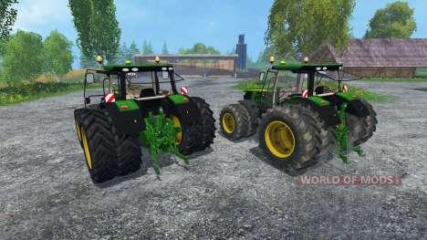 John Deere 6170R and 6210R pour Farming Simulator 2015
