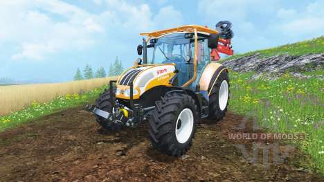 Steyr Multi 4115 hydromanipulator pour Farming Simulator 2015