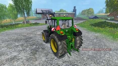 John Deere 6830 Premium FL pour Farming Simulator 2015