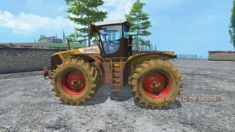 CLAAS Xerion 5000 v2.0 dirt für Farming Simulator 2015