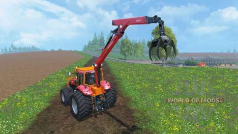 Case IH Magnum CVX 380 Forestry v2.0 für Farming Simulator 2015