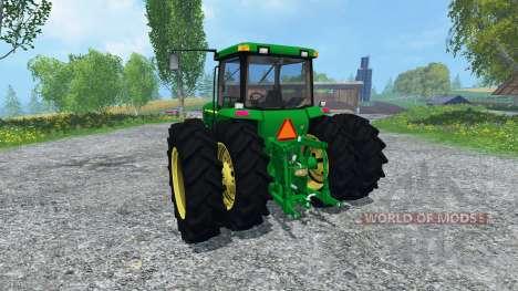 John Deere 8400 v3.0 pour Farming Simulator 2015