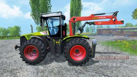 CLAAS Xerion 5000 Forest Edition für Farming Simulator 2015