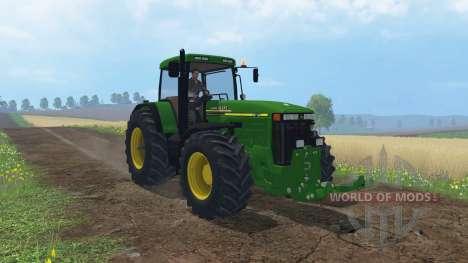 John Deere 8110 für Farming Simulator 2015