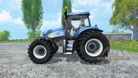 New Holland T8020 v2.0 pour Farming Simulator 2015