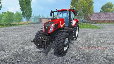 New Holland T8.435 Rot für Farming Simulator 2015