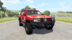 Toyota Land Cruiser 100 v2.0 pour BeamNG Drive