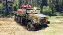 KrAZ-260 v2.0 pour Spin Tires