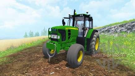 John Deere 6130 2WD FL TwinWheels pour Farming Simulator 2015