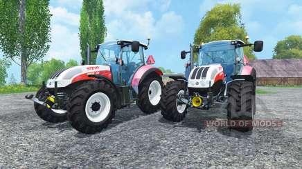 Steyr CVT 6230 Pack v1.4 für Farming Simulator 2015