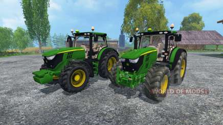 John Deere 6170R and 6210R für Farming Simulator 2015