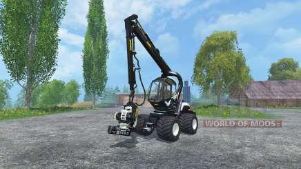 PONSSE Scorpion 4WD EcoLog Cutter v2.0 pour Farming Simulator 2015