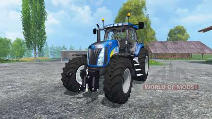 New Holland T8020 Maulwurf Edition für Farming Simulator 2015