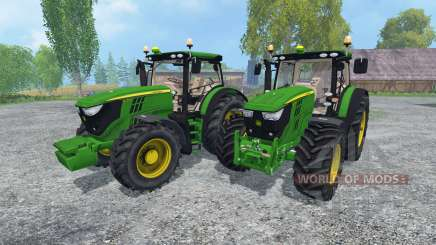 John Deere 6170R and 6210R v2.0 für Farming Simulator 2015
