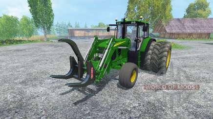 John Deere 6130 2WD FL v2.0 für Farming Simulator 2015