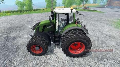 Fendt 820 Vario v2.0 pour Farming Simulator 2015