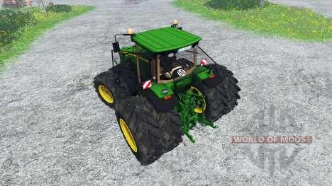 John Deere 8530 v1.1 pour Farming Simulator 2015