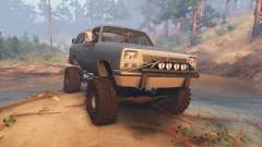 Dodge Ramcharger II 1991 blue grey-clean pour Spin Tires