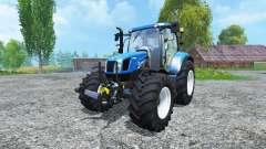 New Holland T6.160 BluePower
