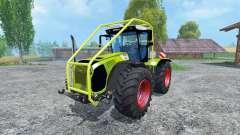 CLAAS Xerion 5000 Arceau Forestierf