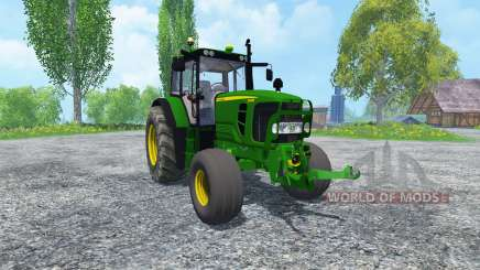 John Deere 6130 2WD v2.0 für Farming Simulator 2015