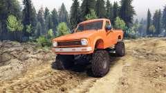 Toyota Hilux Truggy 1981 v1.1 orange für Spin Tires