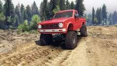 Toyota Hilux Truggy 1981 v1.1 red für Spin Tires