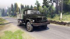 ZIL-130 MMZ-4502 pour Spin Tires