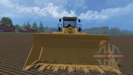 Cat 980H AWS v3 für Farming Simulator 2015