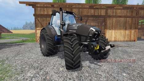 Deutz-Fahr Agrotron 7250 TTV Black Edition v2.0 für Farming Simulator 2015